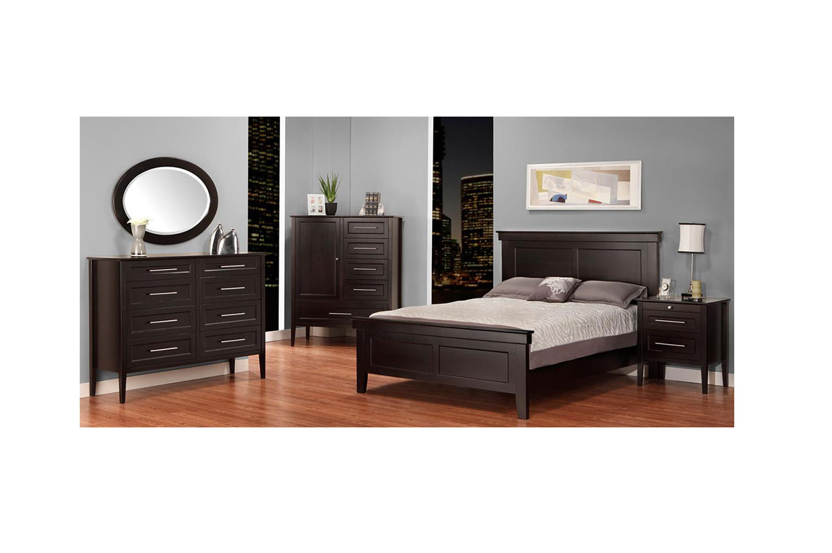 Solid wood bedroom furniture cg