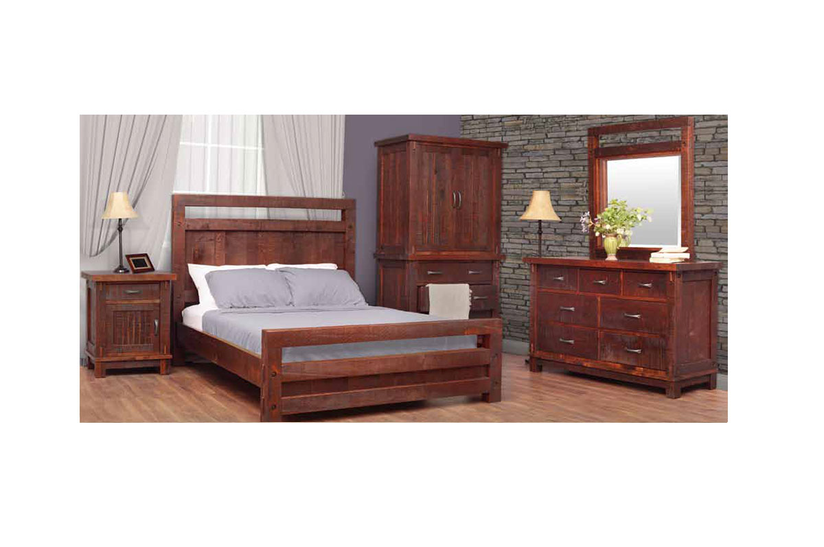 Solid wood bedroom furniture cg solid for Solid hardwood bedroom furniture