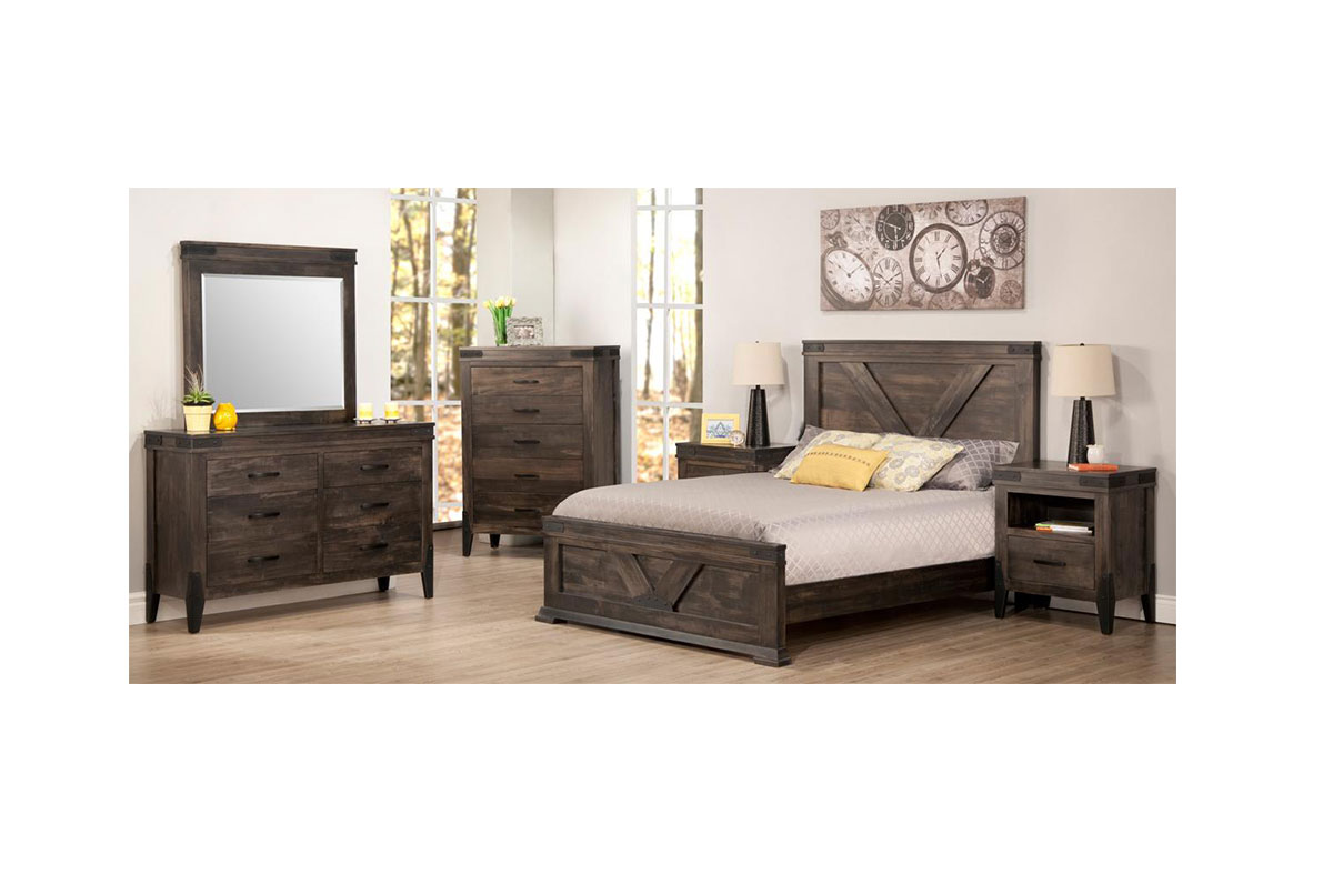 solid wood bedroom furniture chattanooga bedroom collection cg solid 17374