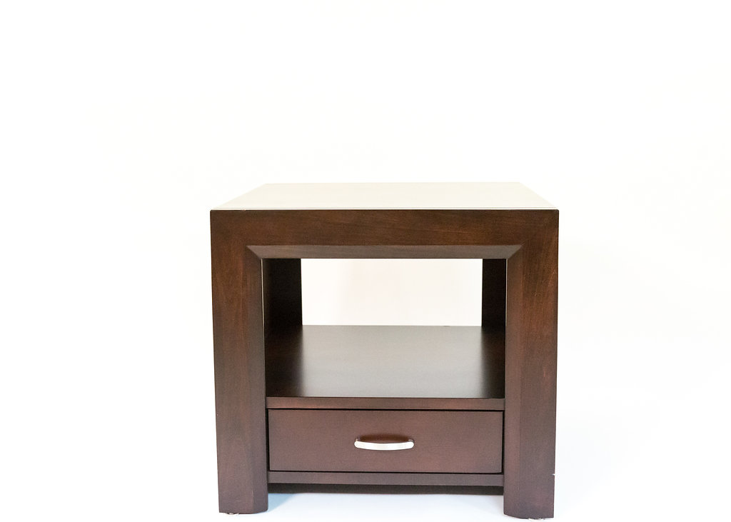 Contempo 1 Drawer End Table