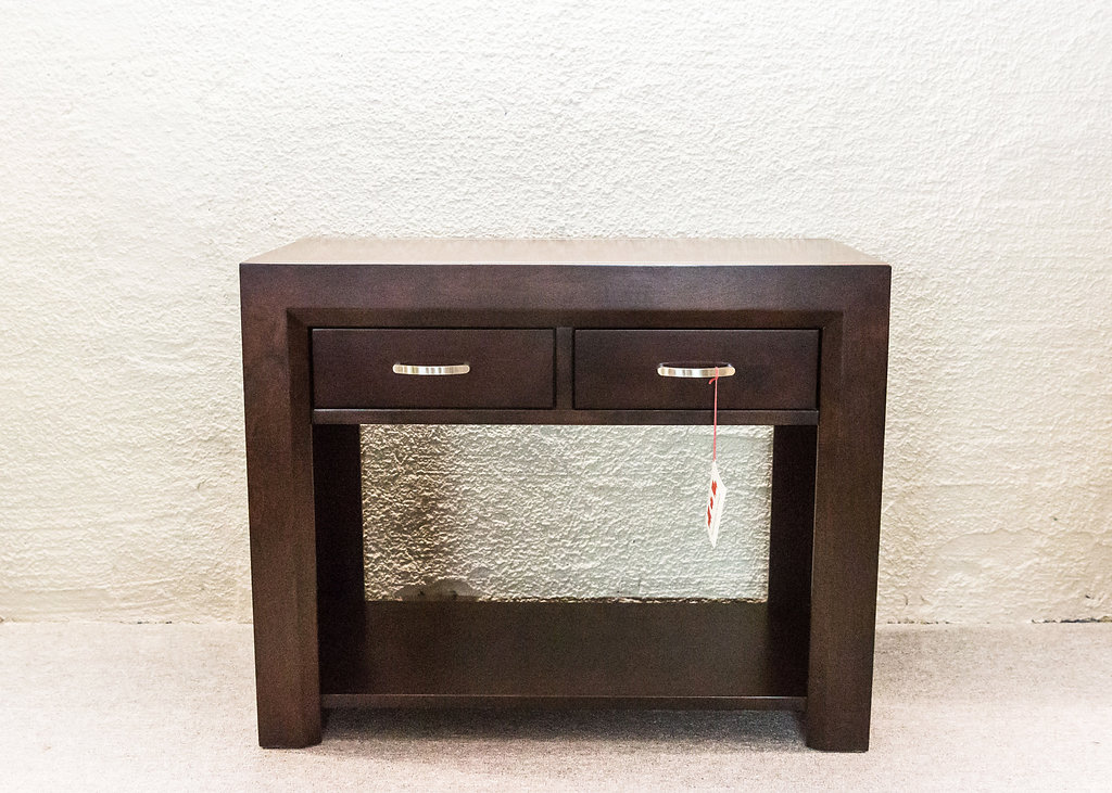 Contempo 2 Drawer Sofa Table