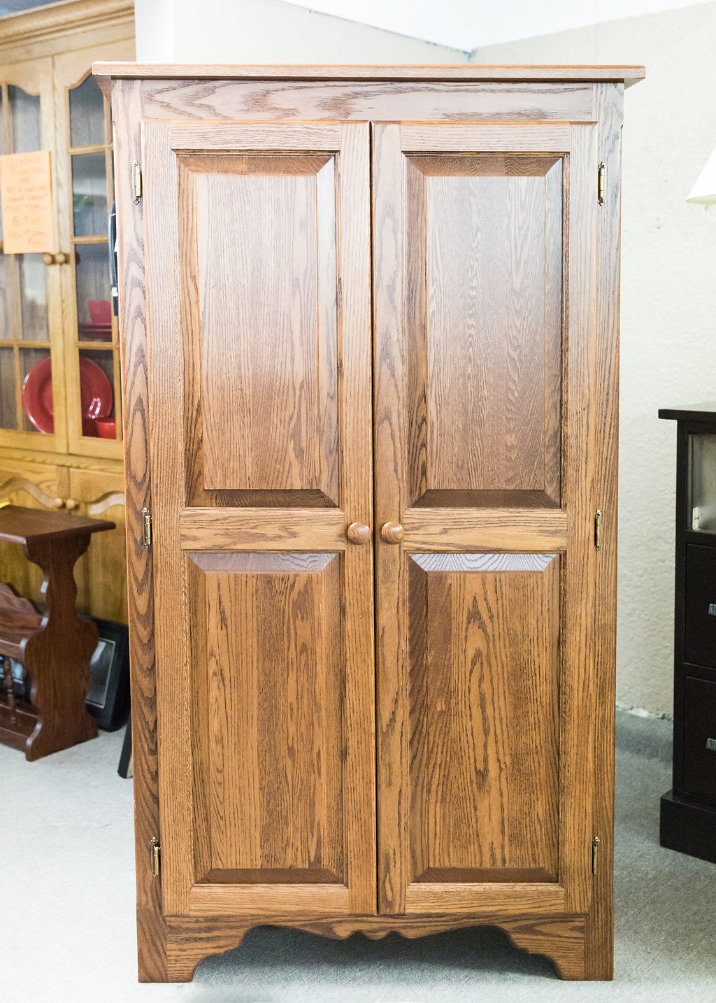 Country 2 Door Jam Cupboard