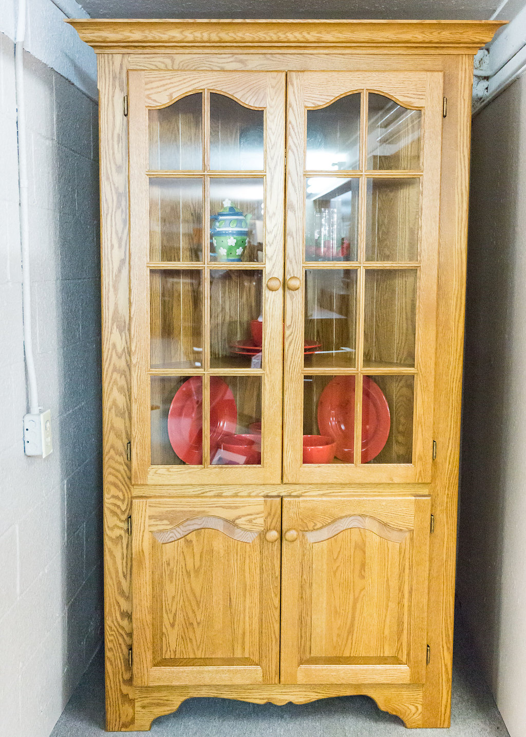 Country Corner Cabinet 40 Long