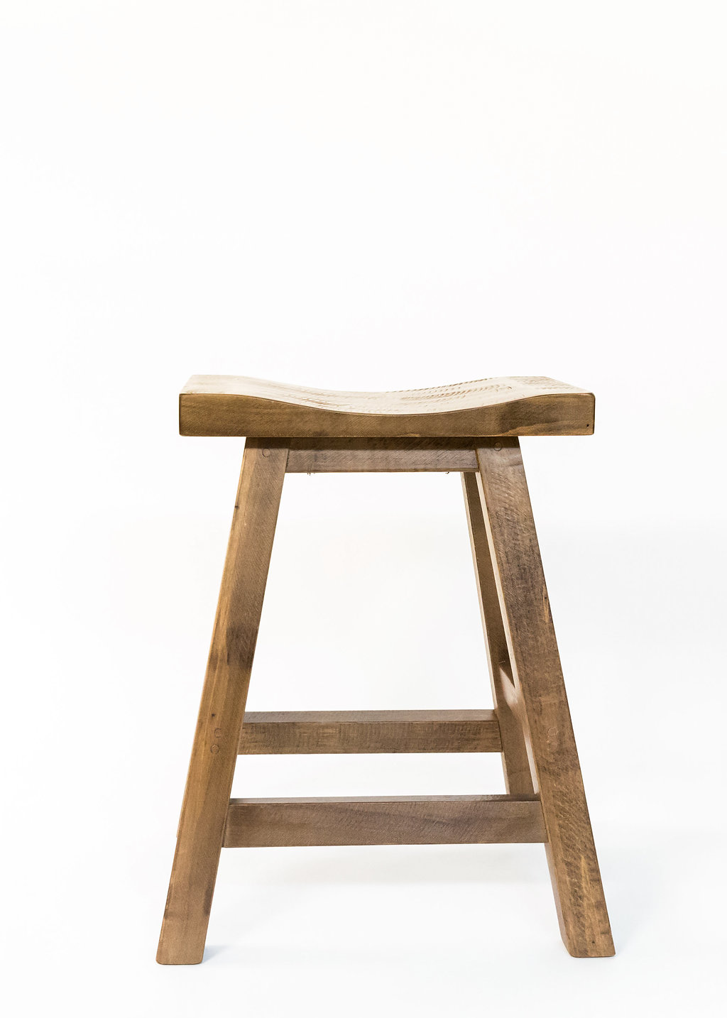 "Yukon 24"" Saddle Stool"