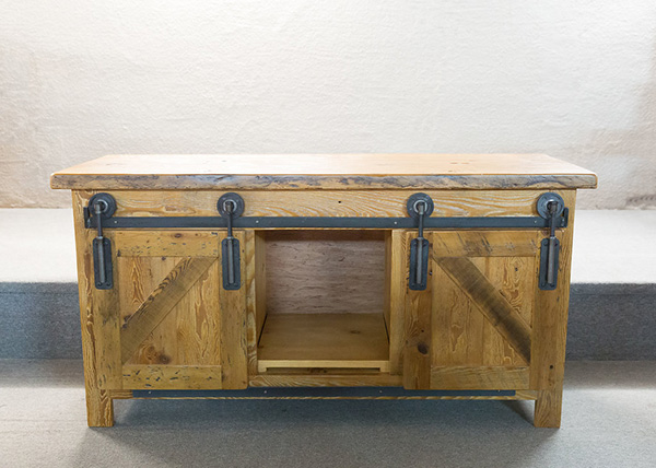 Reclaimed Barnboard TV Stand