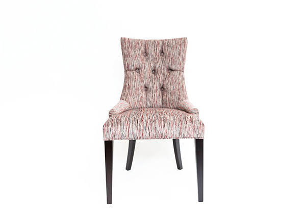 Tufted Custom Accent Chair w/Upgrade Fabric